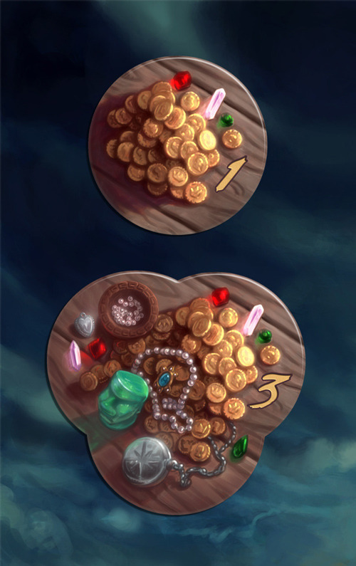 Treasure tokens